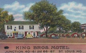 RT 66: ST. LOUIS , Missouri , 1930-40s ; King Bros. Motel