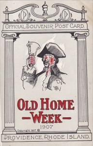 Rhode Island Providence Old Home Week 1907