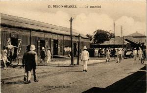 CPA Diego Saurez- Le marche MADAGASCAR (819570)