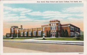 New Senior High School and Junior College Fort Smith Arkansas Curteich