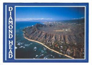 Beautiful scene of Diamond Head, Hawaii, 40-60s