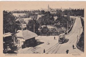 Trolly car, Luxembourg, Passerelle, 1910s