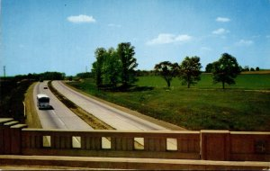 Pennsylvania Turnpike View Near Downingtown