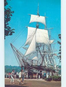 Unused Pre-1980 CHARLES MORGAN SHIP BOAT New Bedford Massachusetts MA hn3976-12