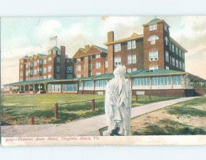 Pre-1907 HOTEL SCENE Virginia Beach Virginia VA B3398