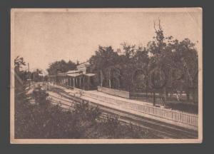 088216 CAUCASUS Jeleznovodsk Railway station Vintage PC