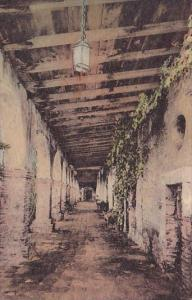 California San Juan Capistrano South Corridor Inner Patio Padres Quarters Old...