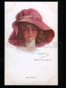 134538 Miss AMERICA Belle by Philip BOILEAU vintage R&N 208 PC