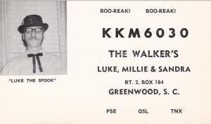 Luke the Spook, KKM6030, The Walker's, Luke, Millie & Sandra, Greenwood, Sout...