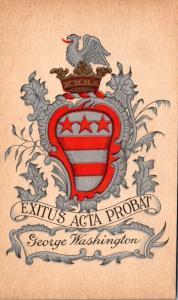 George Washington Coat Of Arms