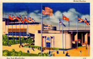 NY - 1939 New York World's Fair. British Pavilion