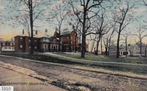 WILLIAMSPORT, Pennsylvania, PU-1910; Williamsport Hospital