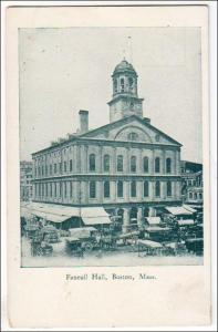 Faneuil Hall, Boston MA