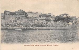 BF36064 aden yemen steamer point european general hospital  front/back scan
