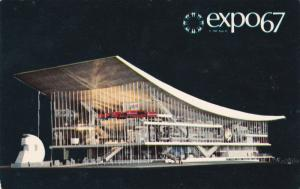 Pavilion of the Soviet Union, EXPO67, MONTREAL, Quebec, Canada, 1960's