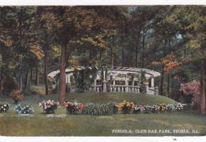 Illinois Peoria Pergola In Glen Oak Park