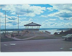 Pre-1980 TOWN VIEW SCENE Quebec City QC p9825