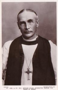 Reverand Arthue Foley Winnington Ingram Bishop Of London Photo