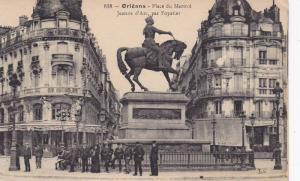 ORLEANS , France , 00-10s ; Place du Martroi Jeanne d'Arc , par Foyatier