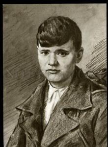 137071 WWII RUSSIAN Alexander SKOKOV Komsomol Hero of USSR