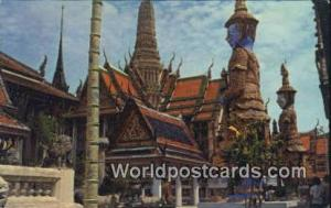 Bangkok Thailand Temple of Emerald Budha  Temple of Emerald Budha