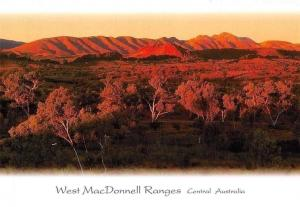 Central Australia West MacDonnell Ranges Panorama