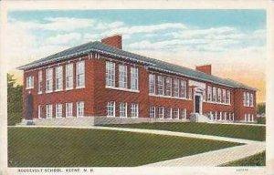 New Hampshire Keene Roosevelt School Curteich
