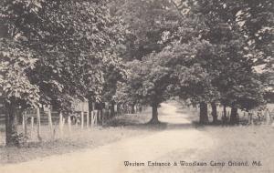 Western Entrance , Woodlawn Camp Ground, Maryland, PU-1909