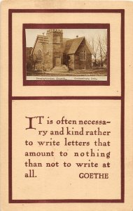 F97/ Gothenburg Nebraska RPPC Postcard c1910 Presbyterian Church 16