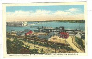 General View of Mississippi River Power Plant, Government Lock and Dry Dock, ...