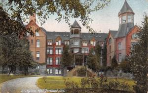 Portland Oregon Episcopal School in Raleigh Hills~St Helens Hall c1910