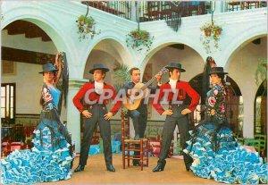 Postcard Modern Ballet espanol Los Flamencos