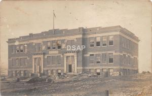 <A10> OHIO Oh Postcard Real Photo RPPC c1910 CLEVELAND? Area School Building 1