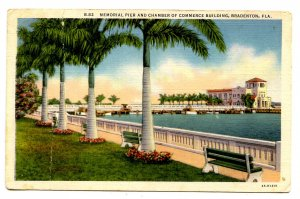 FL - Bradenton. Memorial Pier & Chamber of Commerce