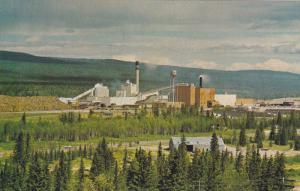 North Western Pulp & Power Ltd. Mill , HINTON , Alberta , Canada , 50-60s
