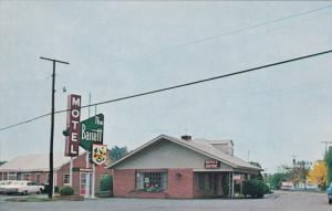 PENNSBURG, Pennsylvania; The Bassett Motel near Old Bassett Plantation, 1940-60s