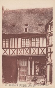 LE GRAND ANDELY , France , 00-10s ; Hotel du Grand Cerf