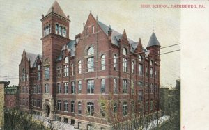HARRISBURG , Pennsylvania , 1900-10s ; High School