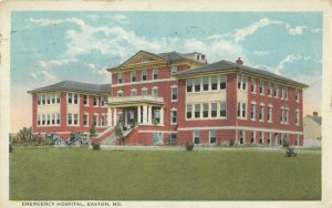 EASTON , Maryland, 1922 ; Emergency Hospital