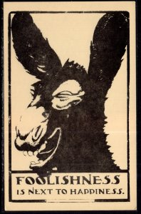 Foolishness is Next to Happiness,Donkey Comic