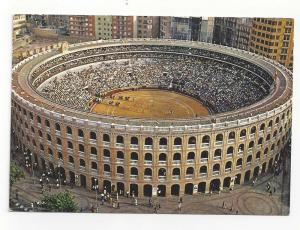 Spain Barcelona Bull Fighting Arena Bullring Postcard 4X6