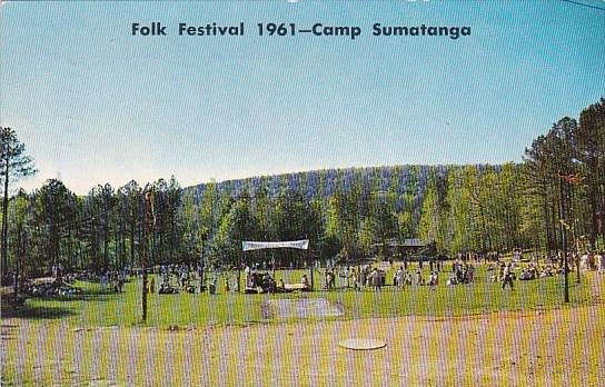 Alabama Gallant Folk Festival 1961 Camp Sumatanga 1962