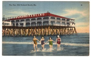 Old Orchard Beach, Me, The Pier