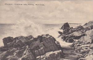 Maine Orr's Island The Surf Albertype