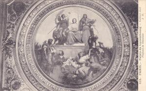 Palais Du Luxembourg, Cabinet Dore, Plafond De Decaisne, PARIS, France, 1900-...