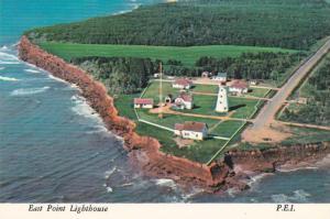 East Point Lighthouse , Prince Edward Island , Canada , 1960-80s