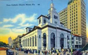 [ Linen ] US Florida Miami - Gesu Catholic Church