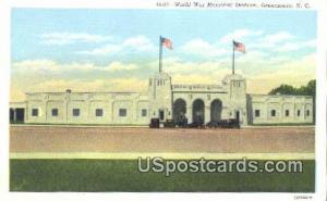 World War Memorial Stadium Greensboro NC Unused
