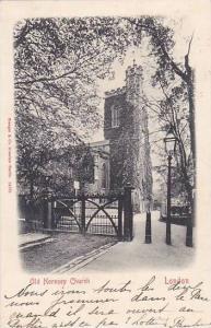 Old Hornsey Church, London, England, PU-1903
