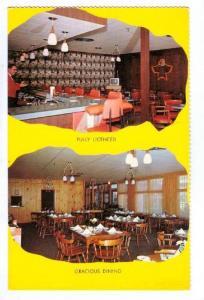 2-Views, Thunderbird Lounge, Motor Hotel, Dryden, Ontario, Canada, 40-60s